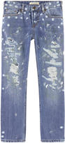 Scotch & Soda Boy regular fit stone jeans - Dean