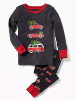 Old Navy Christmas Cars Sleep Set for Toddler & Baby