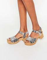 Asos TICKLE Clog Sandals