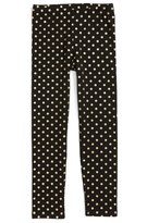 Girl's Truly Me Stretch Cotton Leggings