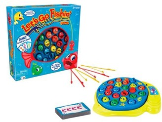Let's Go Fishin' and Go Fish Card Combo Game by Pressman Toy