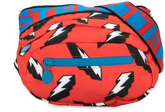 Stella McCartney Kids 3D lightning sport belt bag