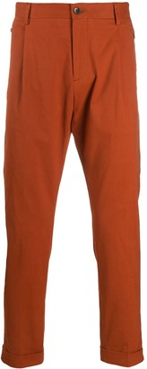 Etro Zip-Pocket Tapered Trousers