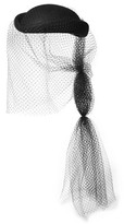 Gucci Veiled Rabbit-felt Hat - Black
