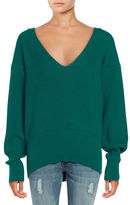 Free People Slouchy V-Neck Sweater