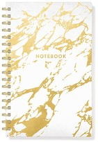 Fringe Gold Marble Spiral Journal