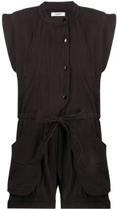 Etoile Isabel Marant sleeveless belted playsuit