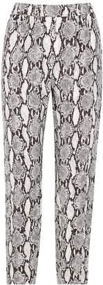 A.L.C. Elijah Snake-print Trousers