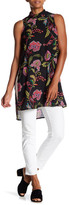 Spense Roll Neck Printed Tunic