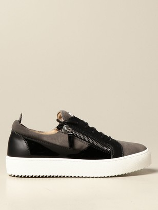 Giuseppe Zanotti Sneakers In Patent Leather