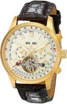 Burgmeister Men's BM330-275 Analog Display Automatic Self Wind Brown Watch