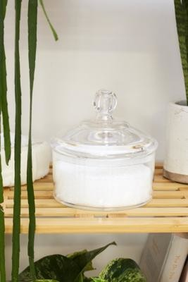 Urban Outfitters Small Storage Canister - Clear ALL at