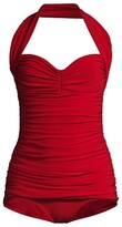 Thumbnail for your product : Norma Kamali Bill Mio Halter One-Piece Swimsuit