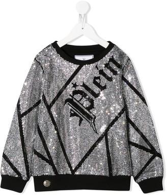 Philipp Plein crystal Plein sweatshirt