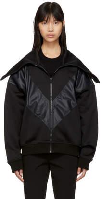 Givenchy Black Oversized Zip-Up Jacket