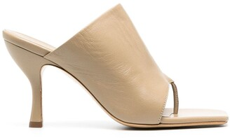 Gia Couture Thong-Strap Open-Toe Sandals
