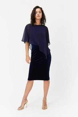 Coast Caped Midi Dress