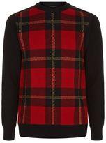 Balmain Tartan Sweater