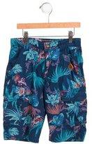 Catimini Boys' Hawaiian Print Mid-Rise Shorts