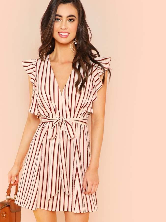 8bbd79f9fe Shein Striped Dresses - ShopStyle