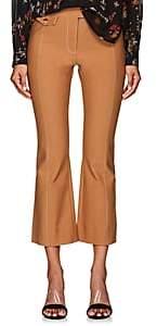 Derek Lam 10 Crosby Women's Cotton Crop Flare Trousers - Camel