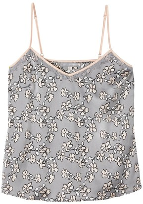 Pretty You London Mix & Match Floral Cami In Dove Grey Cami Only