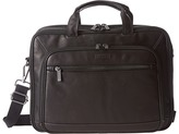 Kenneth Cole Reaction A Golden Op-Port-Unity Colombian Leather Laptop Brief Briefcase Bags