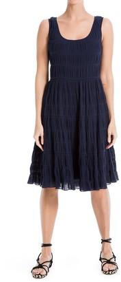 Max Studio Smocked Tiered Dress (Plus Size)