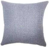 Nik Solid Down Filled Lumbar Pillow Gracie Oaks Color: Indigo