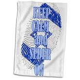 3dRose 3D Rose Keep Calm and Seder on. Passover. Jewish Religion. Popular Saying Hand Towel