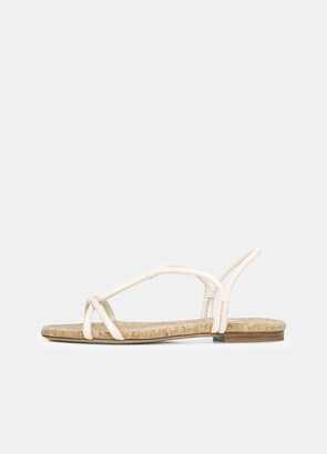 Vince Leather Hazen Rope Sandal