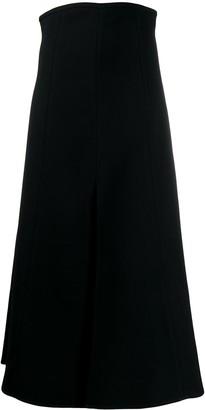Ellery Super High Waisted A-Line Skirt
