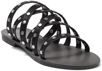 Zigi Alysia Cross Strap Studded Slide Sandal
