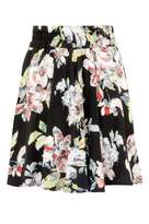 Select Fashion Fashion Womens Multi Pastel Floral Skater Skirt - size 6