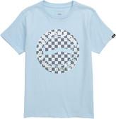 Vans Iridescent Checkerboard Logo Graphic Tee