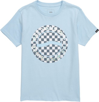 Vans Iridescent Checkerboard Logo Graphic Tee