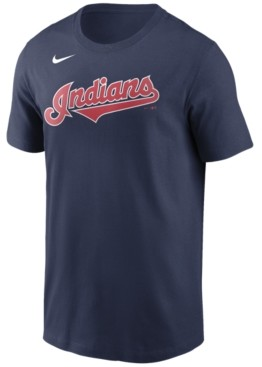 Nike Cleveland Indians Men's Swoosh Wordmark T-Shirt