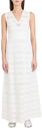 M Missoni V-Neck Long Dress