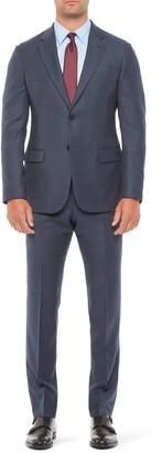 Emporio Armani G Line Trim Fit Microdot Wool Suit