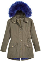 S. Rothschild Hooded Parka with Faux-Fur Trim, Little Girls & Big Girls