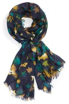 Nordstrom Women's Mystic Floral Cashmere & Silk Scarf