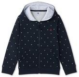 Petit Bateau Boys light tube cotton sweatshirt with zipper