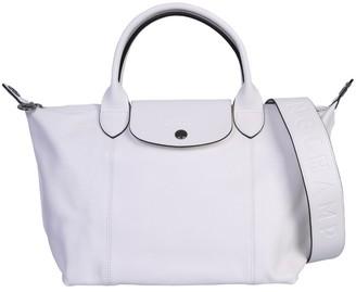 Longchamp Le Pliage Cuir Top Handle Bag