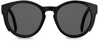 Moschino 51MM Round Shield Sunglasses