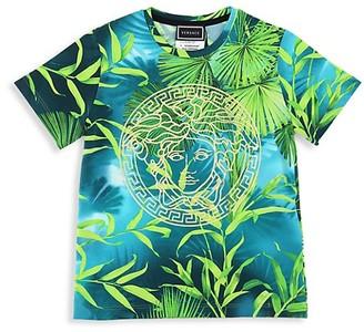 Versace Little Kid's & Kid's Medusa Jungle T-Shirt