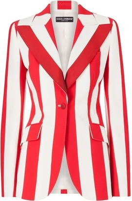 Dolce & Gabbana Candy-Striped Blazer
