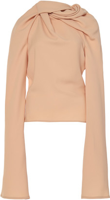 Ellery Le Plage Draped Cotton Top