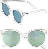 Quay 'Like Wow' 55mm Round Sunglasses