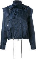Versus drawstring waist rainjacket - women - Nylon/Spandex/Elastane/Viscose - 38
