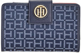Tommy Hilfiger TH Serif Snap Wallet